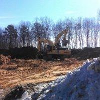Grundstücke, Bau